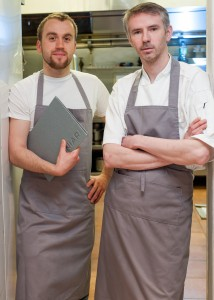 Alex McMahon, Floor Manager and Ultan Cooke, New Head Chef Aniar