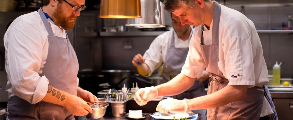 Aniar Retaurant - The Kitchen Team at work