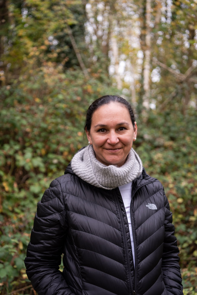 Karissa Bercerra from La Revolución who visited Rigneys Farm, Co. Limerick while attending Food On The Edge 2018 - Photography by Clare Yazbeck