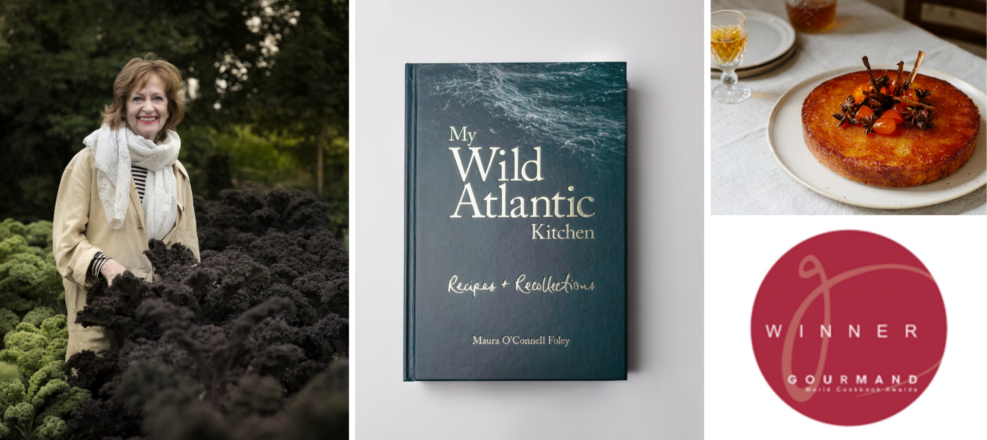 'My Wild Atlantic Kitchen' announced as Best Book in Ireland by Gourmand World Cookbook Awards 2020